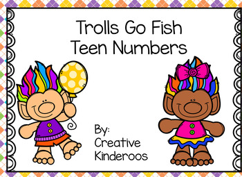 Trolls Go Fish Teen Numbers