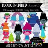 Trolls Inspired Clipart
