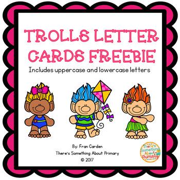 Trolls Letter Cards
