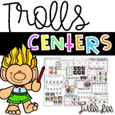 Trolls Literacy and Math Centers