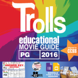 Trolls Movie Guide   Questions   Worksheet (PG - 2016)