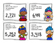 Trolls - Place Value to 9,999 SCOOT game/task cards