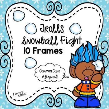 Trolls Snowball Fight 10 Frames