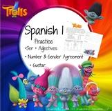 Trolls - Spanish 1, Realidades 1A&B