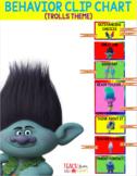 Trolls Theme Behavior Clip Chart