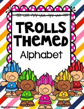 Trolls Themed Alphabet Posters