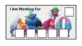 Trolls Token Economy Board