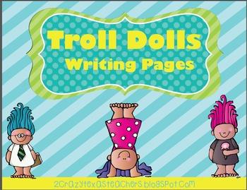 Trolls Writing Packet