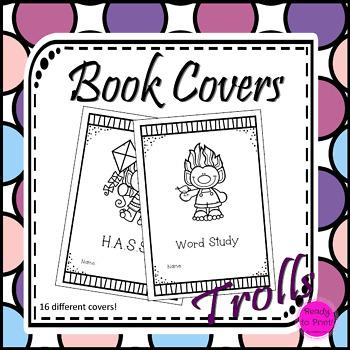 Trolls book covers