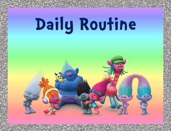 Trolls Daily Routine