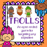 Trolls Open Ended Game for Speech Therapy