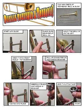Trombone Assembly Comic Strip