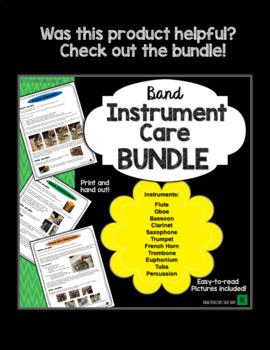 Trombone Instrument Care