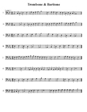 Trombone and Baritone sight-reading
