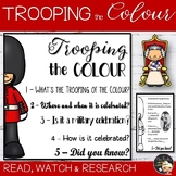 Trooping the Colour Informational Text Flapbook