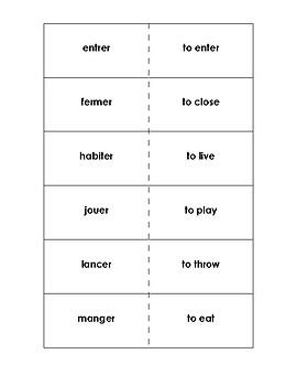 Trop Lent - ER verbs game Bien Dit 1