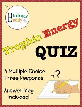 Trophic Energy Quiz