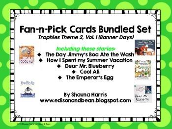 Trophies Banner Days Fan & Pick Cards Bundle #4 Vol.1