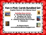 Trophies Banner Days Fan & Pick Cards Bundle #5 Vol. 2
