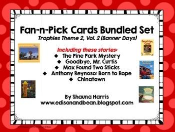 Trophies Banner Days Fan & Pick Cards Bundle #5 Vol. 2