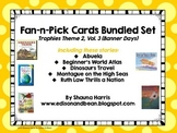 Trophies Banner Days Fan & Pick Cards Bundle #6 Vol. 3