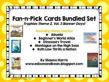 Trophies Banner Days Fan & Pick Cards Bundle #6 Vol. 3
