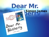 Trophies Dear Mr. Blueberry Vocabulary