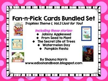 Trophies Just for You Fan & Pick Cards Vol 3 Bundled Set
