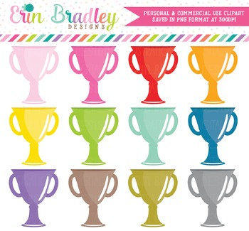 Trophy Clipart - Awards Graphics