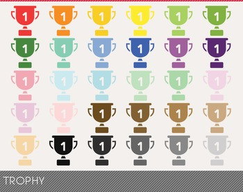 Trophy Digital Clipart, Trophy Graphics, Trophy PNG