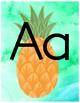 Tropical Alphabet Posters