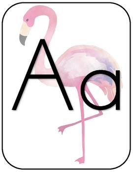 Tropical Alphabet- print
