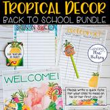 Tropical Back to School Bundle