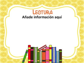 Tropical Back to School and Open House PPT Template in Spanish ( EDITABLE )