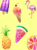 Tropical Binder Covers & Spines *editable*