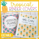 Tropical Binder Covers and Spines