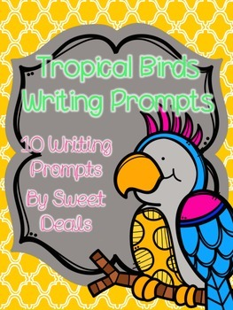 Tropical Birds Writing Prompts