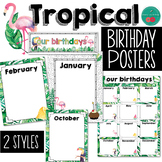 Tropical Birthday Posters