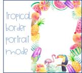 Tropical Border Portrait