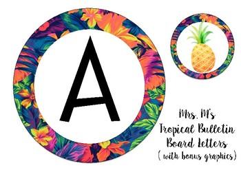 Tropical Bulletin Board Letters