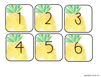 Tropical Calendar EDITABLE and READY TO PRINT