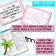 Tropical Classroom Decor - 3rd Grade CCSS Posters EDITABLE