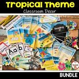 Tropical Theme Classroom Decor BUNDLE