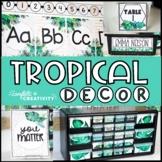 Tropical Classroom Decor Bundle   Tropical Classroom Theme