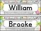 Name Tags for Desks EDITABLE | Tropical Classroom Decor EDITABLE