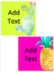 Tropical Classroom Decor Editable GROWING BUNDLE