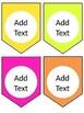 Tropical Classroom Decor Editable BUNDLE