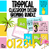 Tropical Classroom Decor {GROWING BUNDLE}
