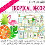Tropical Classroom Decor Pack