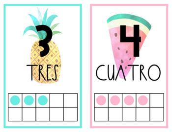 Tropical Classroom Decor- SPANISH EDITION